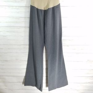 Motherhood Maternity gray dress pants size large